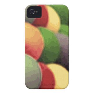 Regenbogen-Kunst-BlackBerry-mutiger kaum dort iPhone 4 Cover