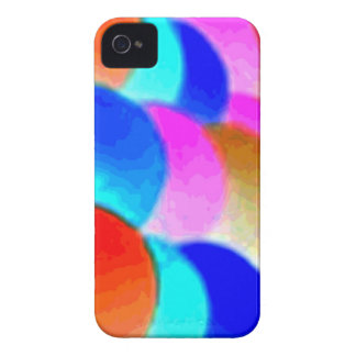 Regenbogen-Kunst-BlackBerry-mutiger kaum dort iPhone 4 Hülle