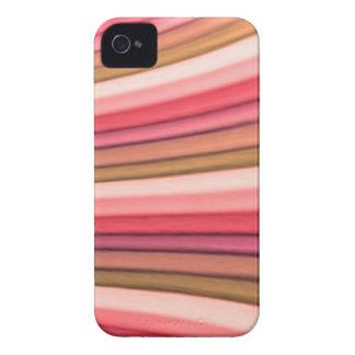 Regenbogen-Kunst-BlackBerry-mutiger kaum dort iPhone 4 Hüllen