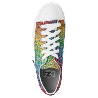 Regenbogen lässt niedrigen Spitzenschuh fallen Niedrig-geschnittene Sneaker