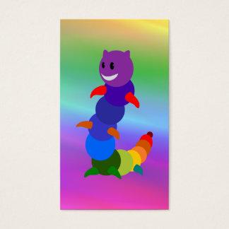 Regenbogen-Lesezeichen Visitenkarte