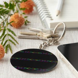 Regenbogen-Lichter Schlüsselanhänger
