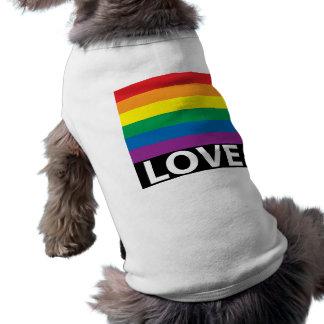 Regenbogen-Liebe, Stolz, LGBT, feiern Liebe T-Shirt