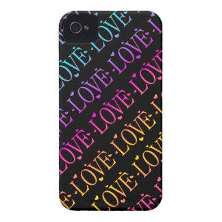 Regenbogen: Liebe und Herzen iPhone 4 Hüllen