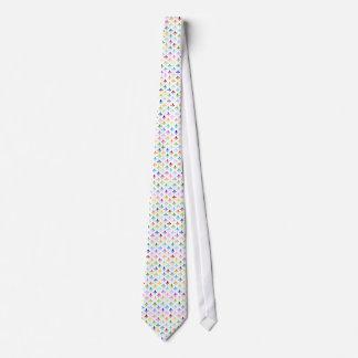 Regenbogen-Lilienmuster Individuelle Krawatten