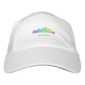 Regenbogen-Louisville-Skyline Headsweats Kappe