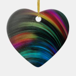 Regenbogen magisch vereint keramik ornament