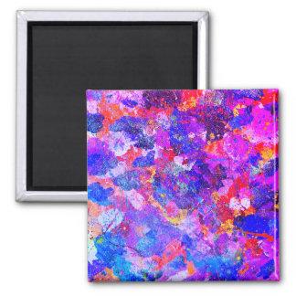Regenbogen-Magnet Quadratischer Magnet