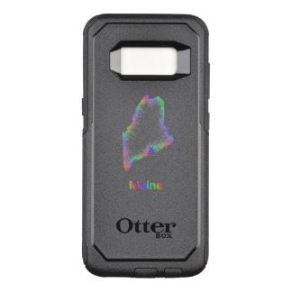 Regenbogen-Maine-Karte OtterBox Commuter Samsung Galaxy S8 Hülle