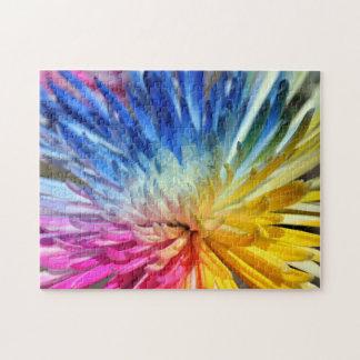 Regenbogen-Mama-Puzzle Puzzle