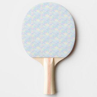 Regenbogen-Meerjungfrau-Pastell Tischtennis Schläger