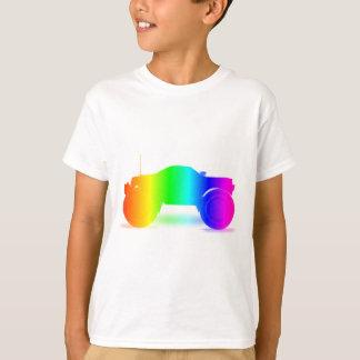 Regenbogen-Monster-LKW T-Shirt