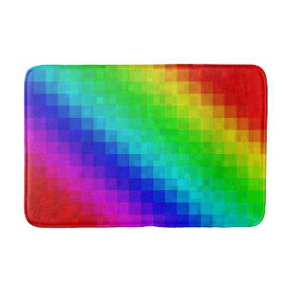 Regenbogen-Mosaik-Fliesen-Muster, Badematte