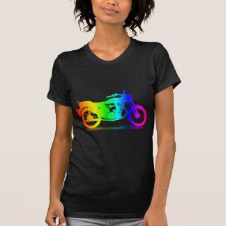 Regenbogen-Motorrad #3 T-Shirt
