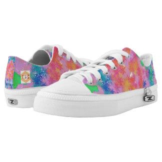 Regenbogen Niedrig-geschnittene Sneaker