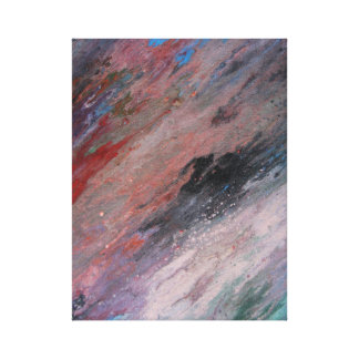 Regenbogen oder Farbe Leinwanddruck