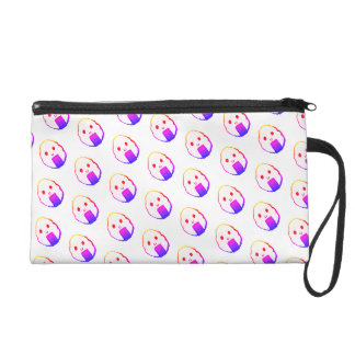 Regenbogen Onigiri Wristlet Handtasche