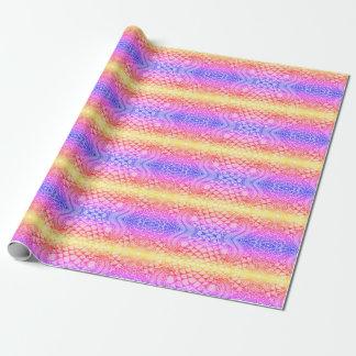 Regenbogen-Packpapier Geschenkpapier
