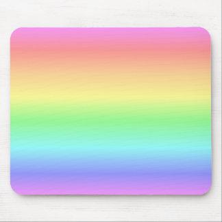 Regenbogen-Pastell Mousepad