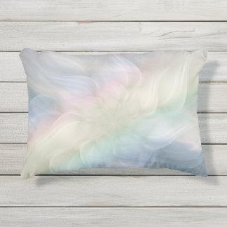 Regenbogen-PastellblumenMandalaentwurf Kissen Für Draußen