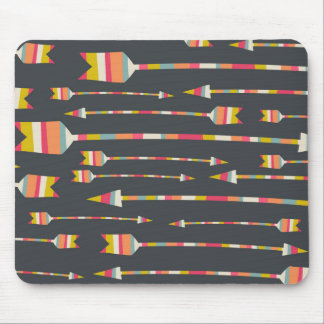 Regenbogen-Pfeil-Muster Mauspads