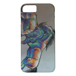 Regenbogen-Pferde iPhone 8/7 Hülle