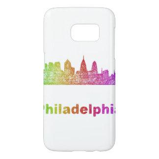 Regenbogen-Philadelphia-Skyline