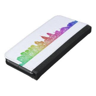Regenbogen-Philadelphia-Skyline Geldbeutel Hülle Für Das Samsung Galaxy S6
