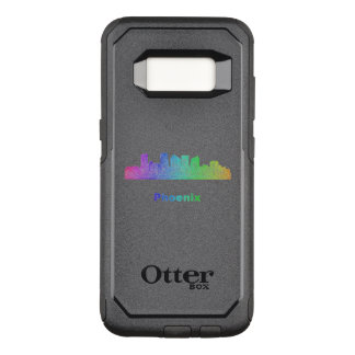 Regenbogen-Phoenix-Skyline OtterBox Commuter Samsung Galaxy S8 Hülle