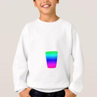 Regenbogen-Pony-Glas Sweatshirt