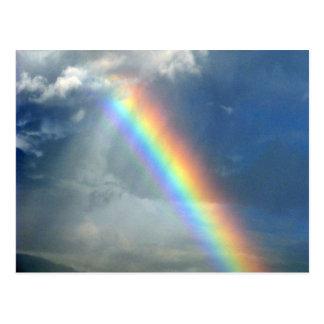 Regenbogen Postkarte
