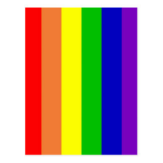 Regenbogen-Postkarte Postkarte