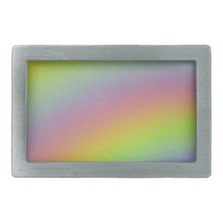Regenbogen-Produkt Rechteckige Gürtelschnalle