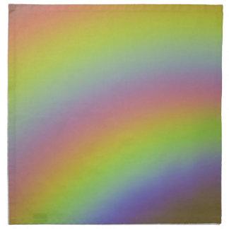 Regenbogen-Produkt Serviette