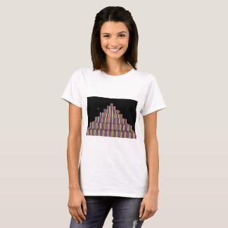 REGENBOGEN-PYRAMIDE T - Shirt