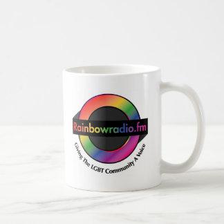 Regenbogen Radio-FM-Waren Kaffeetasse