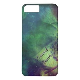 Regenbogen-Raum-Blume iPhone 7+ Fall *Personalize* iPhone 8 Plus/7 Plus Hülle