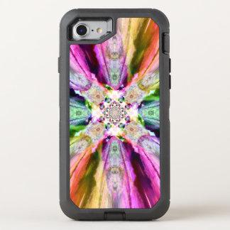 Regenbogen Rays Otter-Kasten Iphone 7 OtterBox Defender iPhone 8/7 Hülle