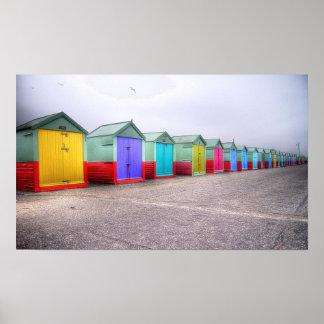 Regenbogen-Reihe Posterdrucke