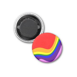 Regenbogen Roy G Biv Runder Magnet 3,2 Cm