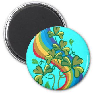 Regenbogen Runder Magnet 5,7 Cm