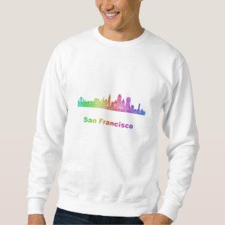 Regenbogen-San Francisco Skyline Sweatshirt