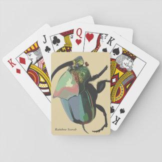 Regenbogen-Scarabäus-Spielkarten Spielkarten