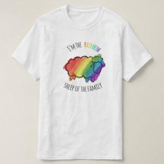 Regenbogen-Schaf-T-Stück T-Shirt