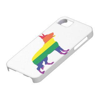 Regenbogen-Schäferhund iPhone 5 Schutzhülle