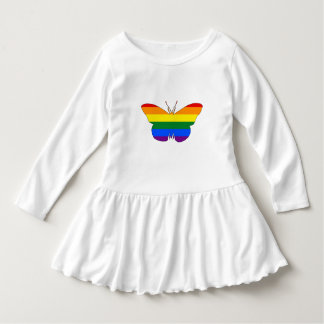 Regenbogen-Schmetterling Kleid
