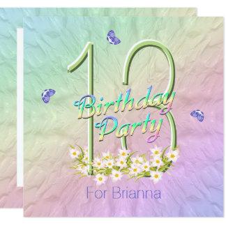 13 geburtstags party einladungen | zazzle.de, Einladungsentwurf