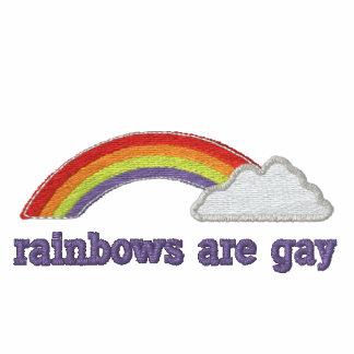 Regenbogen sind homosexuell besticktes polo