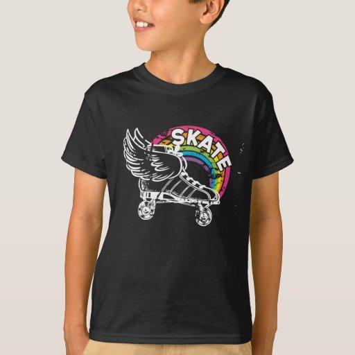 Regenbogen-Skate Hemd