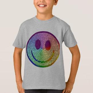 Regenbogen-smiley T-Shirt
